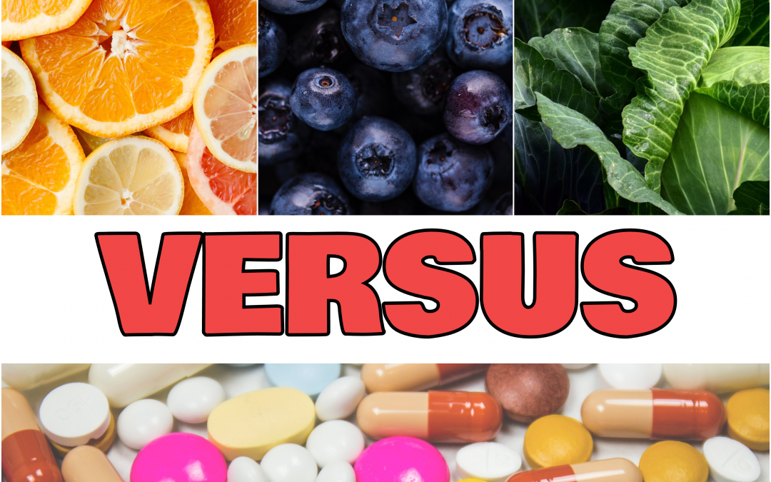 Antioxidant Foods vs. Supplements